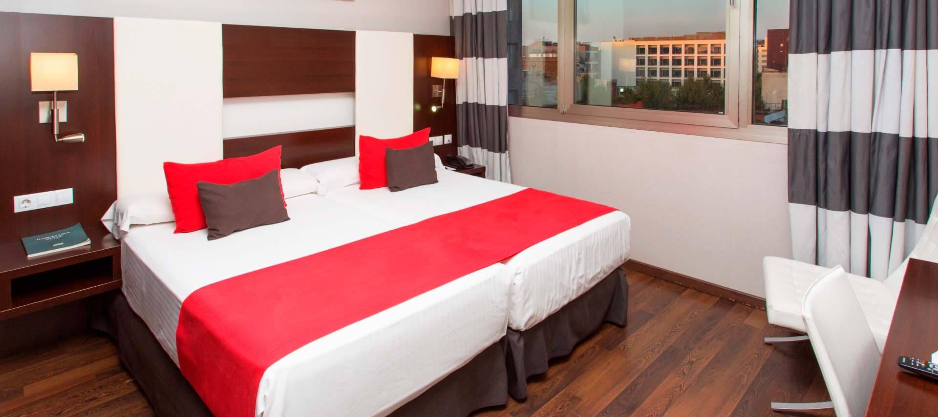Habitación de Hotel & Spa Villa Olímpica Suites